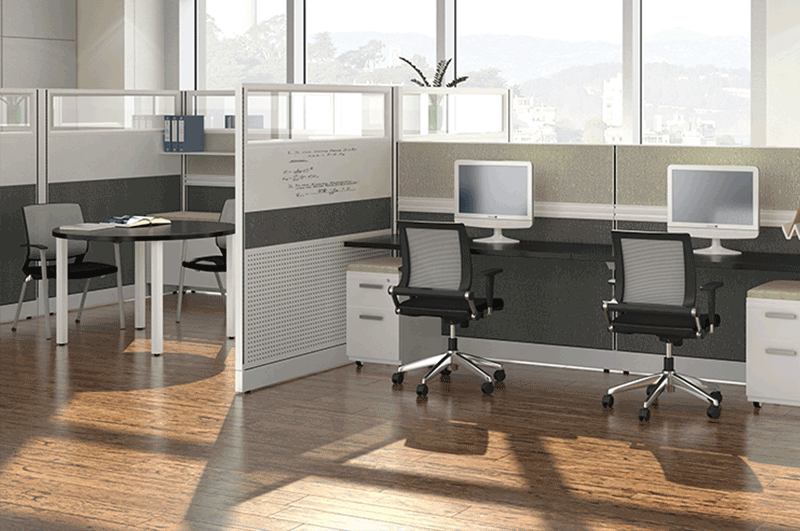 Novo modern cubicle office cubicle by Friant