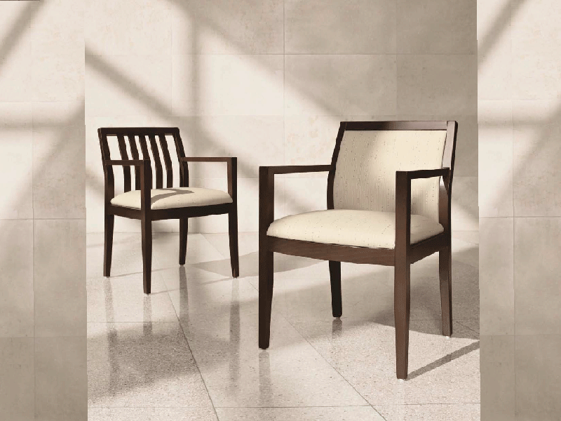 Layne Guest Chairs by Global office furniture