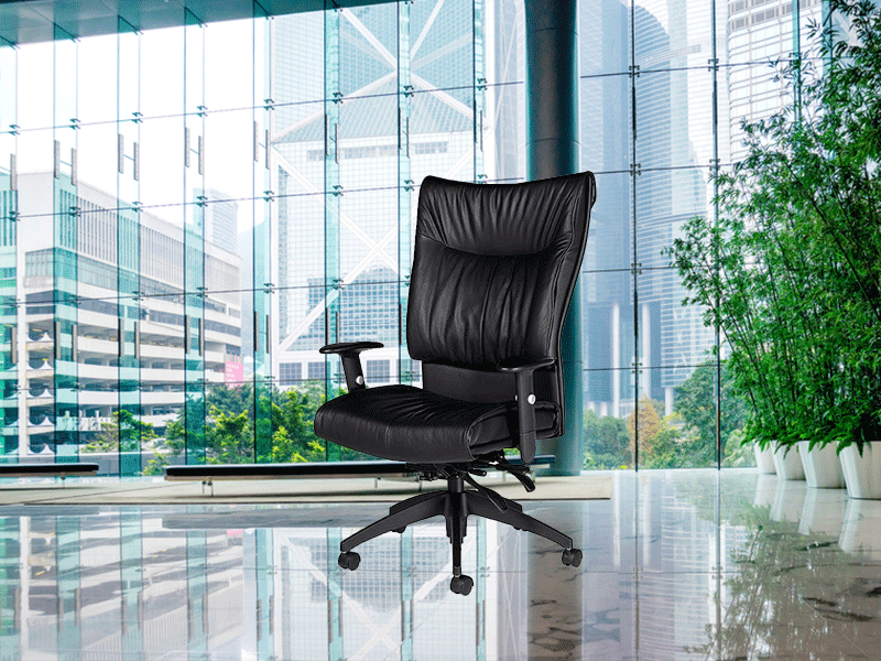 Softcurve Executive Leather Chair By Global Office Chairs