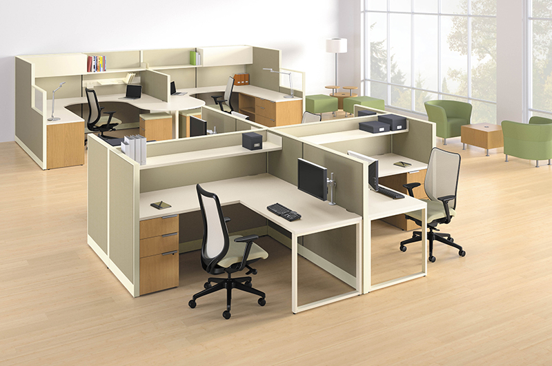 Hon Accelerate Cubicles   Workstations