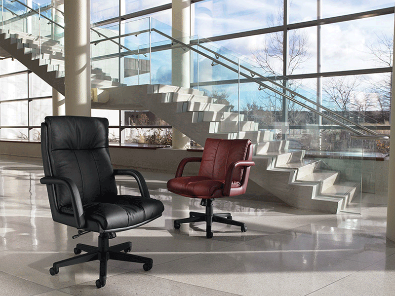 Troy Leather Chairs