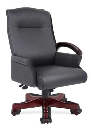 Leather Office Chairs - OfficeMakers.com Office Furniture Stores ...