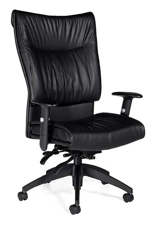 Softcurve Leather Office Chair By Global
