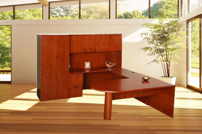 Veneer Desks & Casegoods by DSA