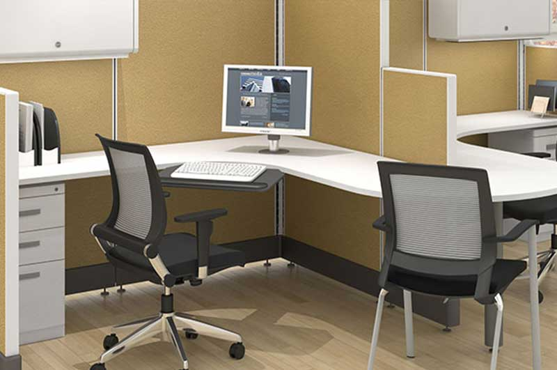 Friant Panel System D1 Cubicles