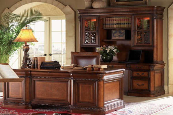 Aspen Home Napa Executive Desk Officemakers
