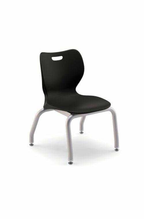 HON SmartLink 4-Leg Chair Onyx