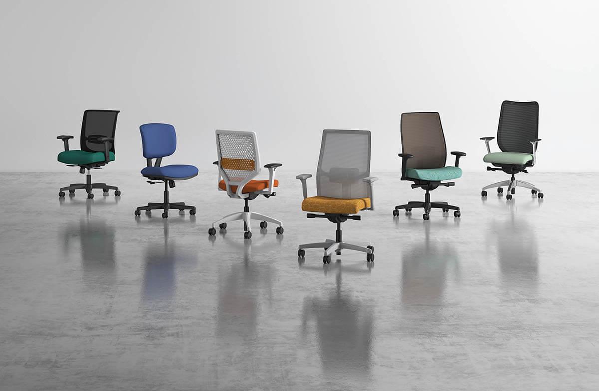 HON HON Antimicrobial Chairs
