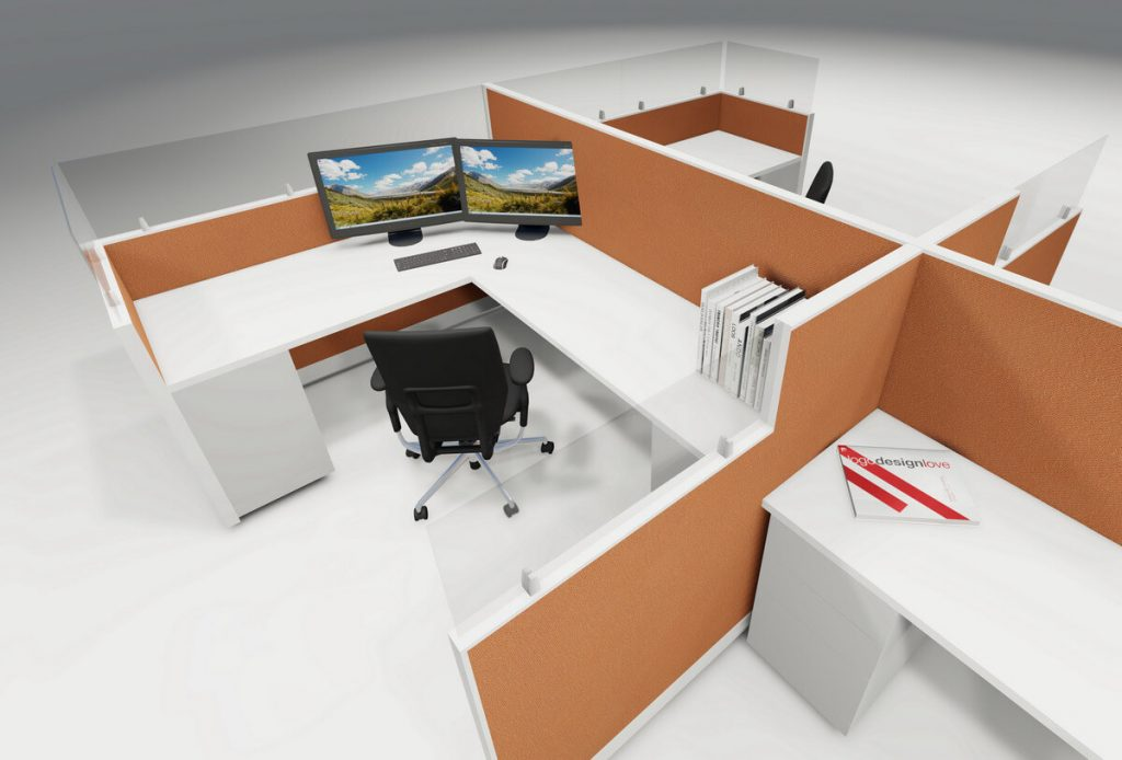 Create the Ideal Workspace with Space Dividers